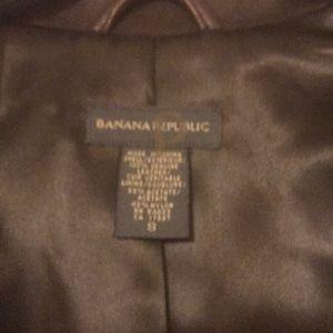 Banana Republic Jackets & Coats - Banana Republic Leather Jacket Size S